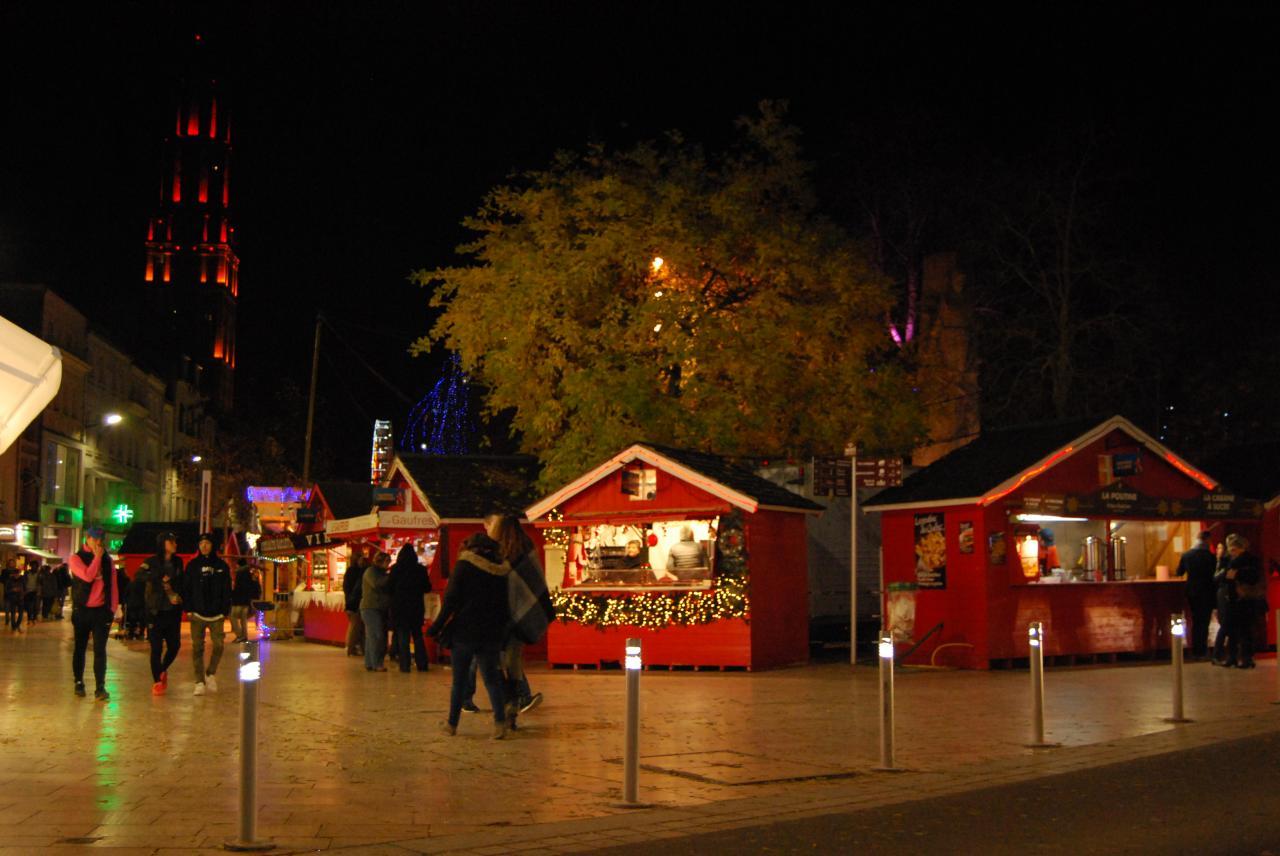 marché de Noël d'Amiens 2016