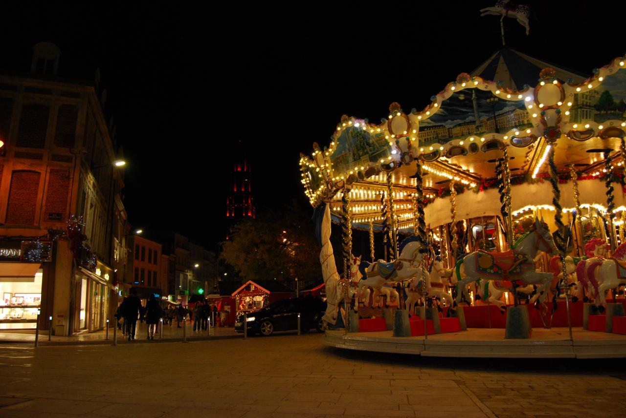 Marché de Noël d'Amiens - carrousel