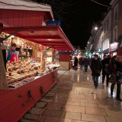 rue Marché de Noël d'Amiens