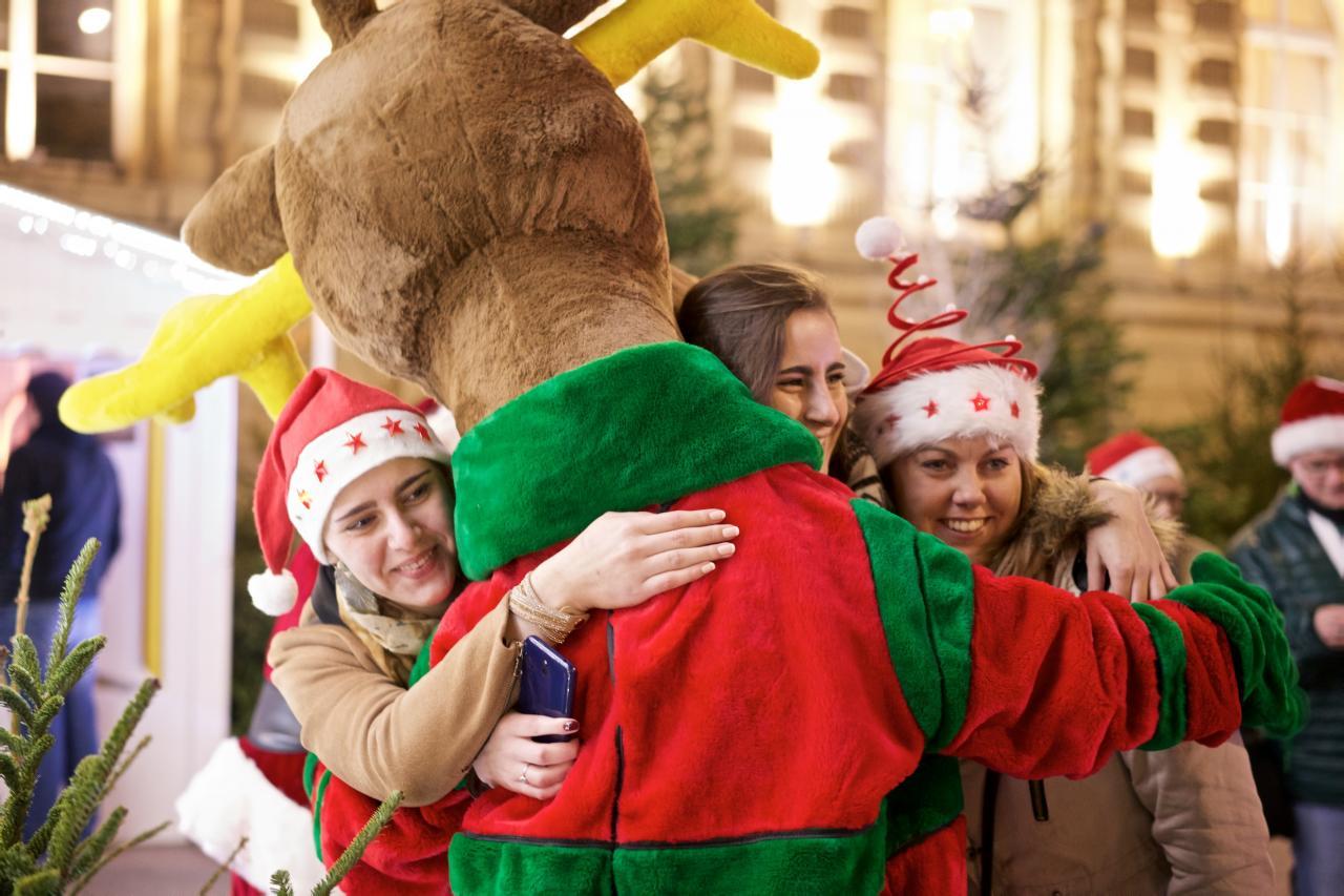 Rennes du Père Noël