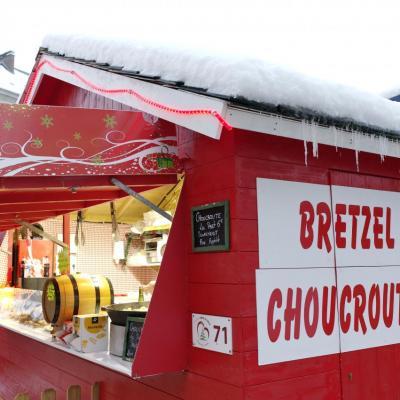 Bretzel et choucroute